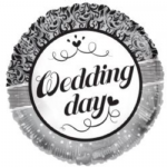 "WEDDING DAY BALLOON  18""  15185-18"